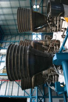 Saturn 5 Rocket Engines.3 by Della-Stock