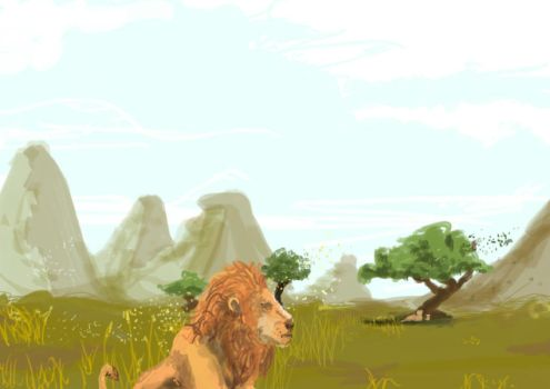 4-25-2011 Lions by WhiteDog293