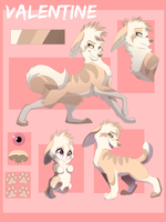 Valentine Reference sheet by Streetfair