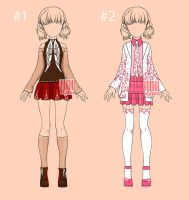 [closed] Auction Outfit kawaii Adopt by YuiChi-tyan