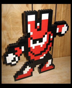 Lego Magnet Man by Spawn-of-Jack