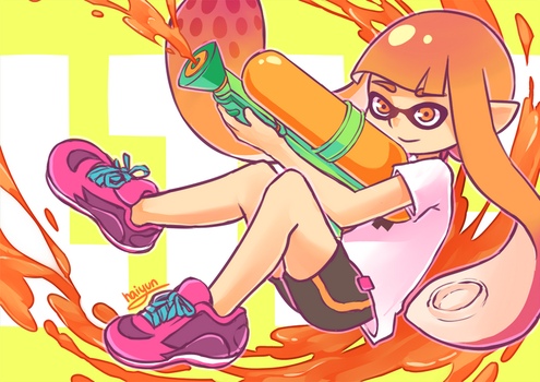 Splatoon: splatsplat by Haiyun