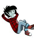 .: Marshall Lee :. by NicOlaWolf791