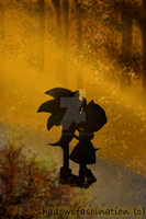 Sonamy Autumn kiss by Shadowsfascination