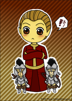 High Chancellor Ocato Chibi by Renai-Akihime