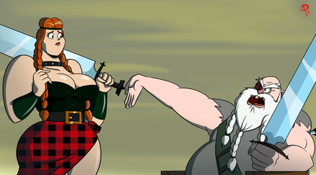 Cover Yourself! (Screenshot Redraw) by Chillguydraws