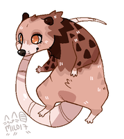 [AUCTION] Fuzzy Opossum (CLOSED) by SouthDog