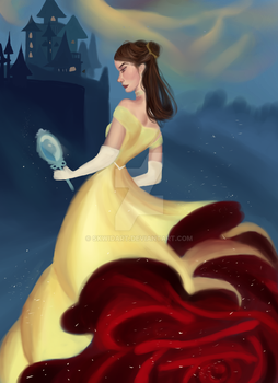 Belle original idea by Mioree! by Skwidart