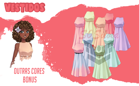Amor doce - pack-vestido by S0Silvia