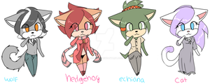 (CLOSED) More Sonic Adopts!~ by VoidBurn