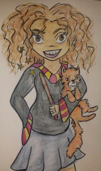 The Brightest Witch of Her Year by artdamnit1003