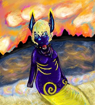 Day Four: Golden Deppression by Twisted-Trickster