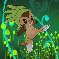 Chespin Slice n' Dice! by Lordy-Oh