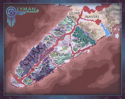 Lyman continent map by Huy137