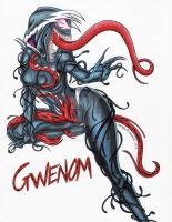 Gwenom by SunsetRising-Art