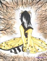 ...of gold and charcoal by kashu-nefelpito