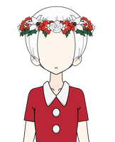 Winter themed flower crown export by Olirez
