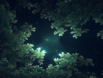 Starlit Canopy by Cosmic-Cuttlefish
