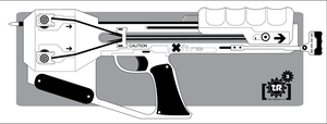 Shadowrun: Arsenal XBow Pistol by Br0uHaHa