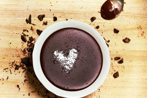 Chocolate Pudding by ElyneNoir