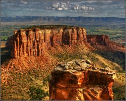 Rocks with a View by Pavloff-Photos
