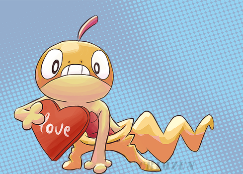 Scraggy - Love by Crimzun