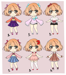 Design an outfit contest entries~ by Kaiyakii