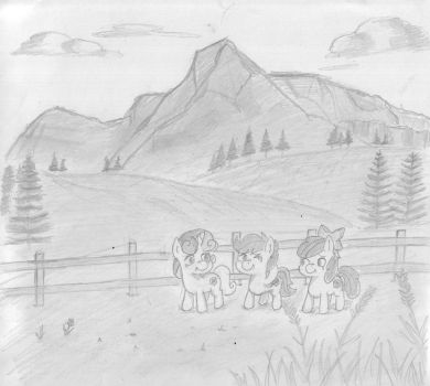 ATG 2016 DAY 4 : pony mending fences/fencing by PeriodicBrony