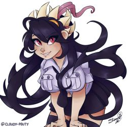 Filia - Skullgirls by cloudypouty