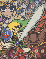 The Legend of ZELDA by captainosaka