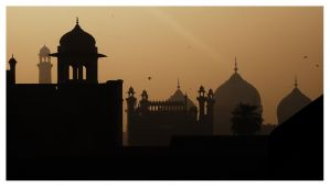 Mughal Silhouettes 1 by vacas