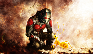 Ant-Man by p1xer