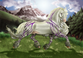 The holy horses of Eurion: Elmir'sul the Two-Faced by SweetLittleVampire