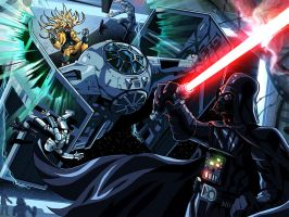 Dio vs Vader by MightyOtaking