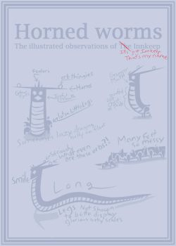 Anatomy of a Horned Worm by brea83