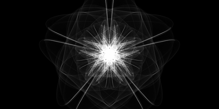 Abstract - Hexagonal Star Explosion (MACEXART) by MaceXArt