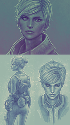 Ev Sketches by velocitti