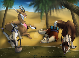[ARPG] Rest at the Oasis by PriestessShizuka