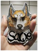 3D -badges: SaQe + video by SaQe