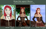 before and after - Anne Bonny by Karaye