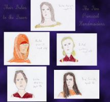 Five Principal Handmaidens by MissIzzy