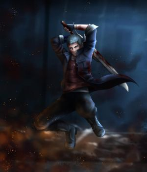 Nero - Devil May Cry 5 by Scarlet---Sky