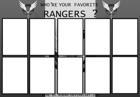 CR Who's Your Fave RANGERS meme by AOBAN