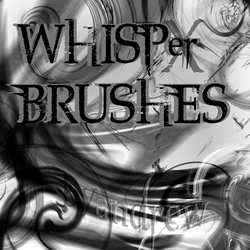 Photoshop Whisp Brush Pack by Fortelegy