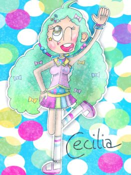 (550 + 440 SPECIAL) Meet Cecilia! [MY OC] by the01angel