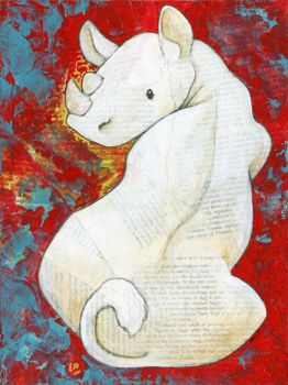 White Rhino by ursulav