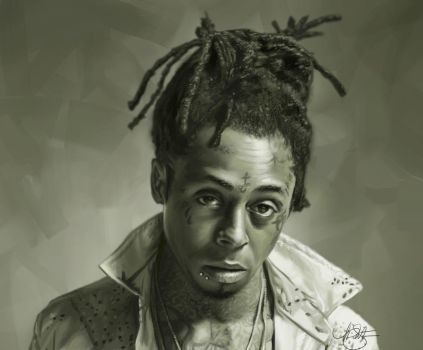 Lil Wayne Portrait by timothysmithdesign