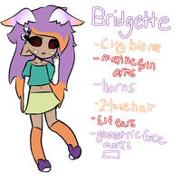 Bridgette - Brachioli MYO [Approved!] by ccelestialGlitch