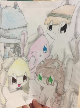 A memory drawing by Hapiness11