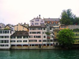 view of the river Limmat by vishalmisra